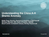 Understanding the China A-H Shares Anomaly