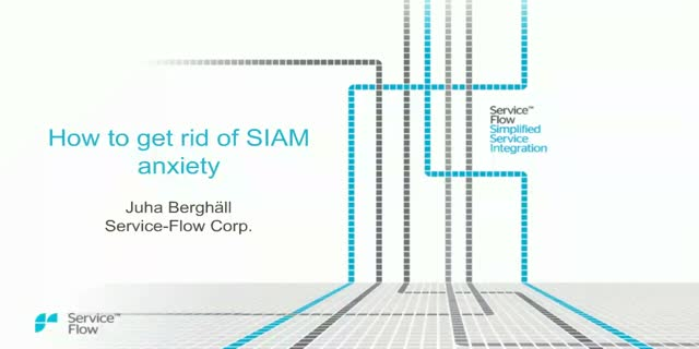 How to get rid of SIAM Anxiety