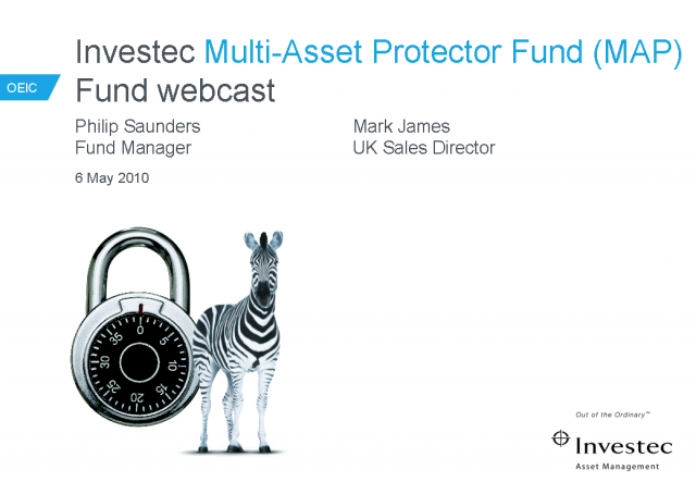 UK OEIC Multi-Asset Protector Fund Webcast & Competition