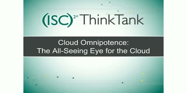 Cloud Omnipotence - The All Seeing Eye for the Cloud