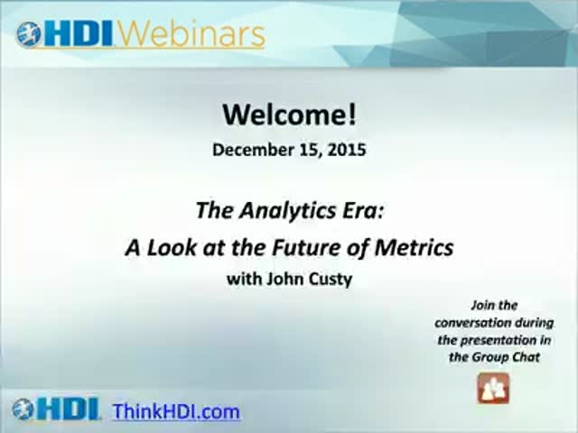 The Analytics Era: A Look at the Future of Metrics