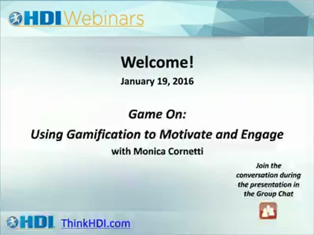 Game On: Using Gamification to Motivate and Engage