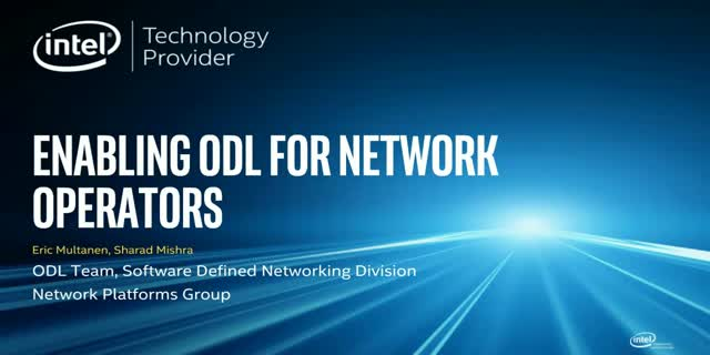 Enabling ODL for Network Operators