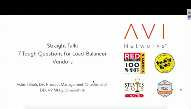 7 Tough Questions for your Load Balancing Vendor (Part 1)