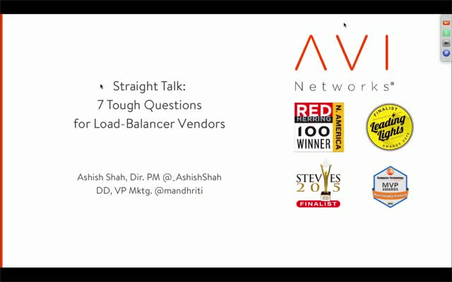 7 Tough Questions for your Load Balancing Vendor (Part 2)