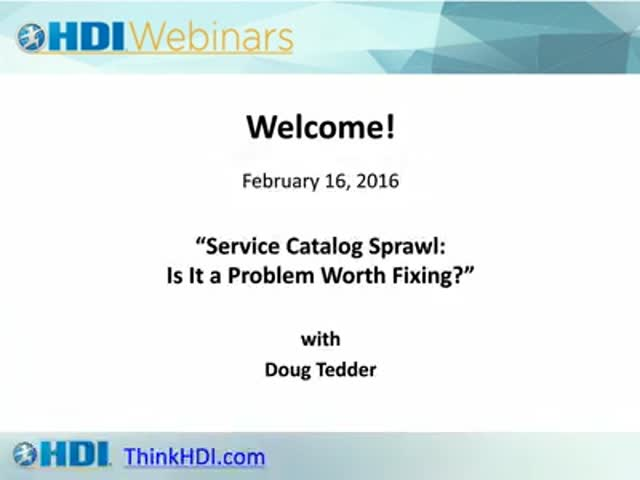 Service Catalog Sprawl: Is It a Problem Worth Fixing?
