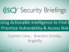 Using Actionable Intelligence to Find & Prioritize Vulnerability & Access Risk