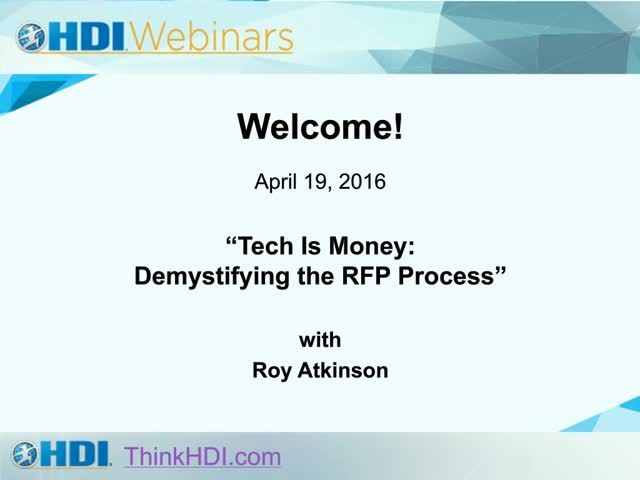 Tech Is Money: Demystifying the RFP Process