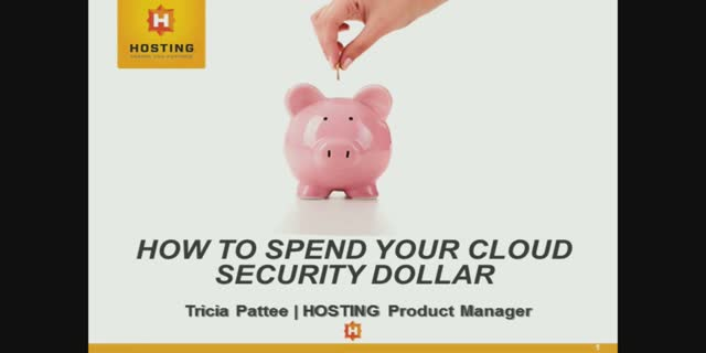 How to Spend Your Cloud Security Dollar