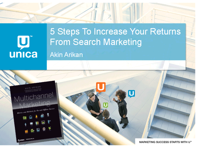 5 Steps To Increase Your Returns From Search Marketing