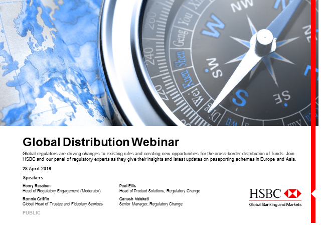 Global Distribution Webinar