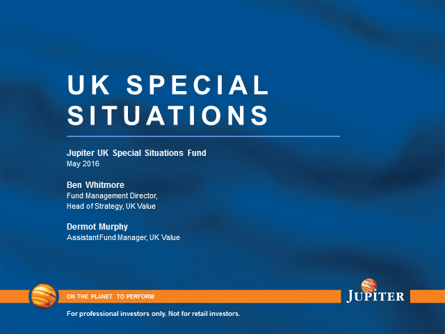 Jupiter UK Special Situations live update