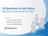 10 Questions You Should Ask about Salesforce Communities