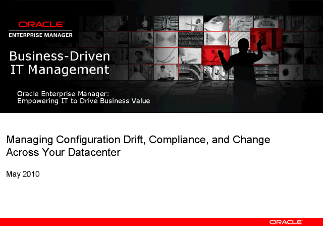 Managing Data Center Change and Compliance