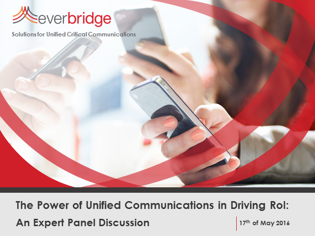 The power of unified communications in driving return on investment