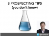 8 Prospecting & Qualification Tips You Don't Know (for Inside Sales)