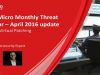 April Monthly Threat Webinar – 0-Days & Virtual Patching