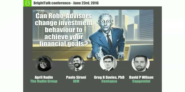 Can Robo-Advisors change investment behaviour to achieve your financial goals?