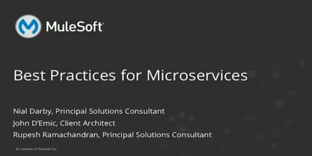 Best Practices for Microservices