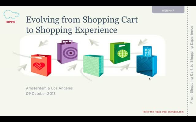 Webcast: From Shopping Carts to Shopping Experiences