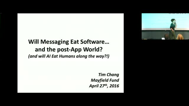 Midas Top 100 VC Tim Chang on Messaging is Eating the World