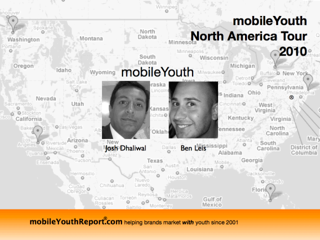 mobile Youth North American Tour 2010 Insights