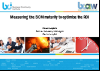 Measuring Business Continuity Mgmt maturity to optimise return on investment