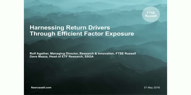 Harnessing Return Drivers Through Effective Factor Exposure
