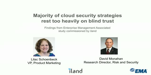 Survey says: Cloud security strategies rest too heavily on blind trust