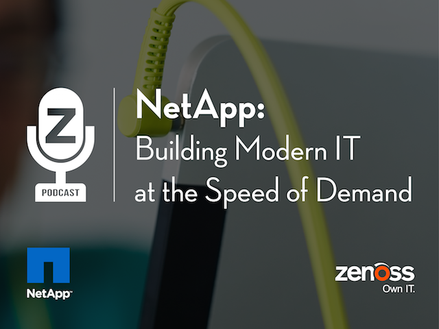 NetApp: Building Modern IT at the Speed of Demand