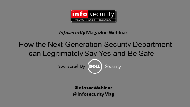 How the Next Generation Security Department can Legitimately Say Yes and Be Safe