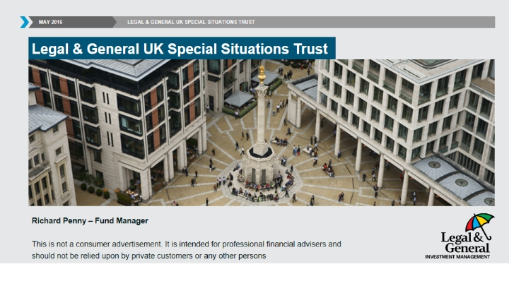 UK Special Situations Trust Q1 2016 fund update