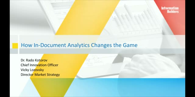 The Next Big Thing in BI: How In-Document Analytics Changes the Game
