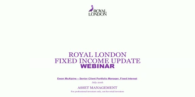 Fixed income six monthly update
