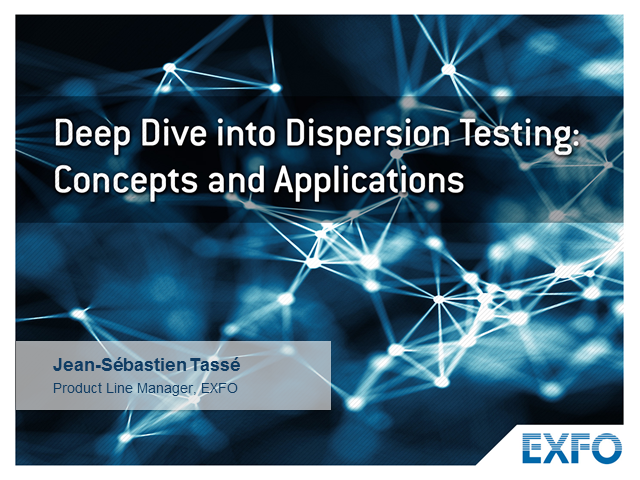 Deep Dive into Dispersion Testing: Concepts and Applications - EMEA edition