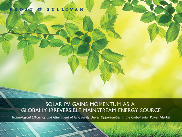 Solar PV Gains Momentum as a Globally Irreversible Mainstream Energy Source