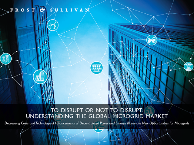 To Disrupt or Not to Disrupt: Understanding the Global Microgrid Market