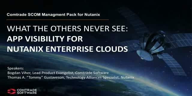 What the others never see: App visibility for Nutanix enterprise clouds
