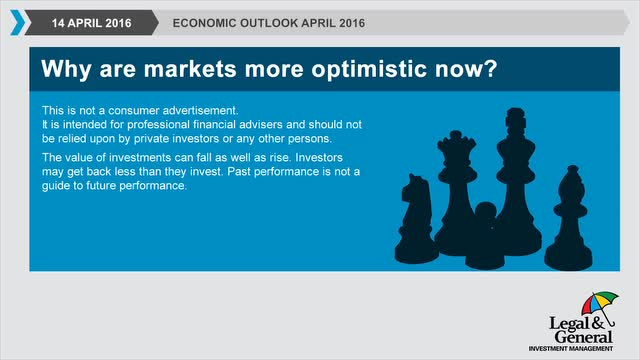 Economic outlook April 2016: A look forward to Q2
