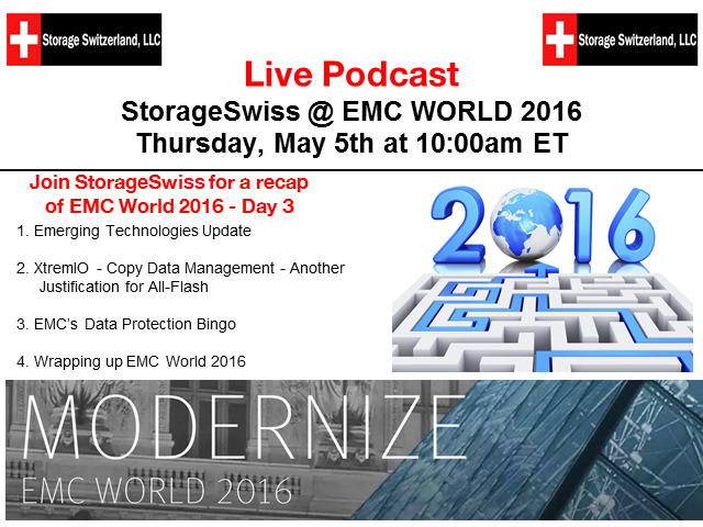 Live Podcast - EMC World - Day 3 Recap