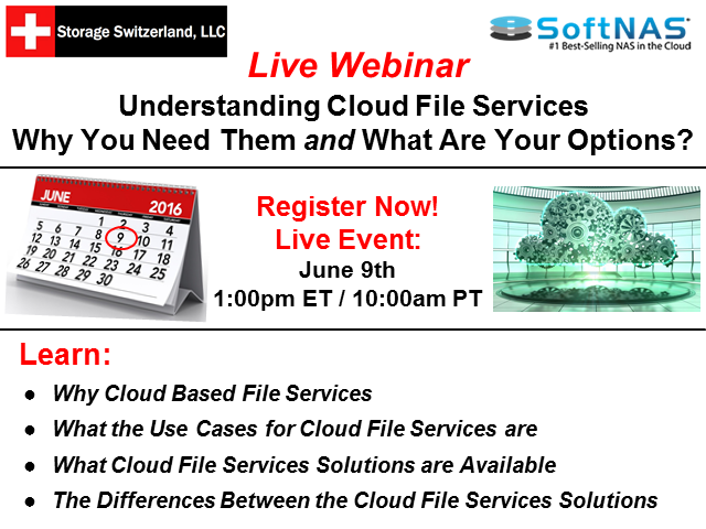 Understanding Cloud File Services – Why You Need Them and What Are Your Options