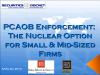 PCAOB Enforcement: The Nuclear Option for Small & Mid-Sized Firms
