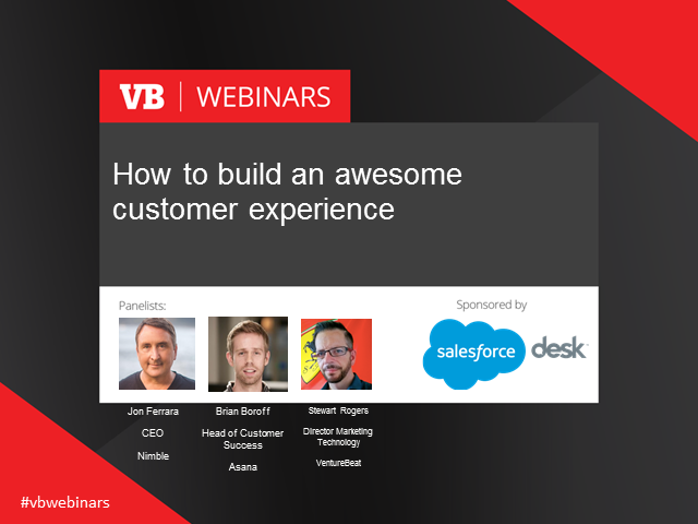 How to build an awesome customer experience