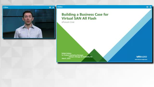 Building a Business Case for Virtual SAN All-Flash