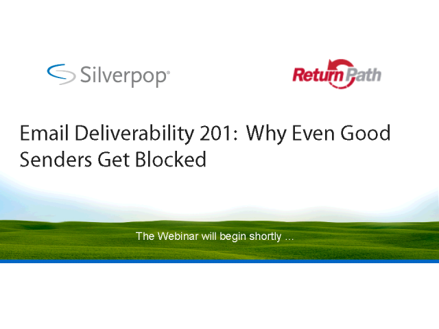 Email Deliverability 201:  Why Even Good Senders Get Blocked