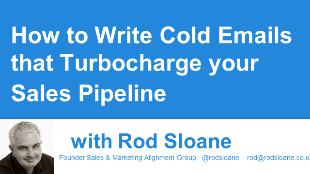 How to Write Cold Emails that Turbocharge your Sales Pipeline