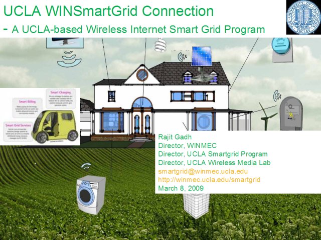 Wireless Internet Smart Grid Technology to Enable Green Energy