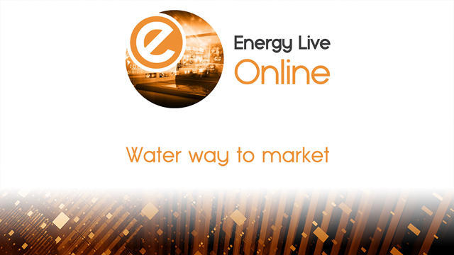 Water way to market
