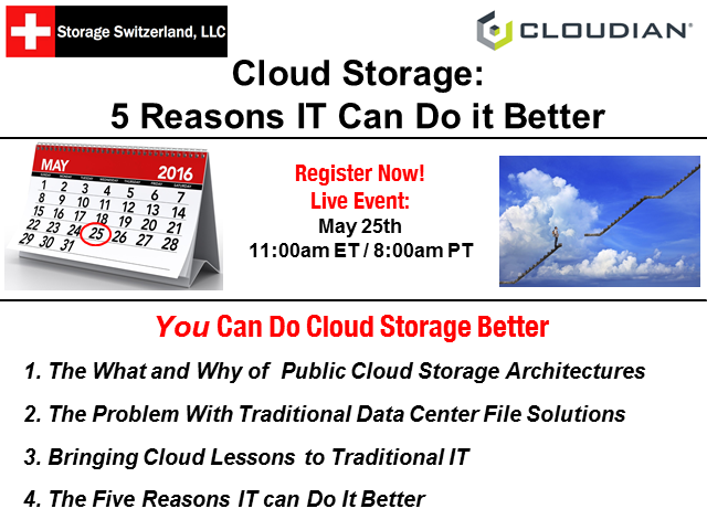 Cloud Storage: The 5 Reasons IT Can Do it Better