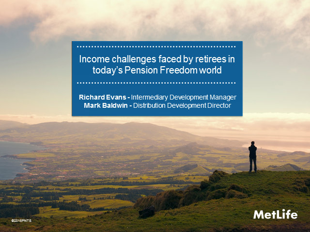 Pension Freedoms - One Year On